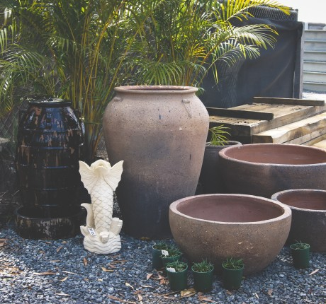 Pots and Water Features